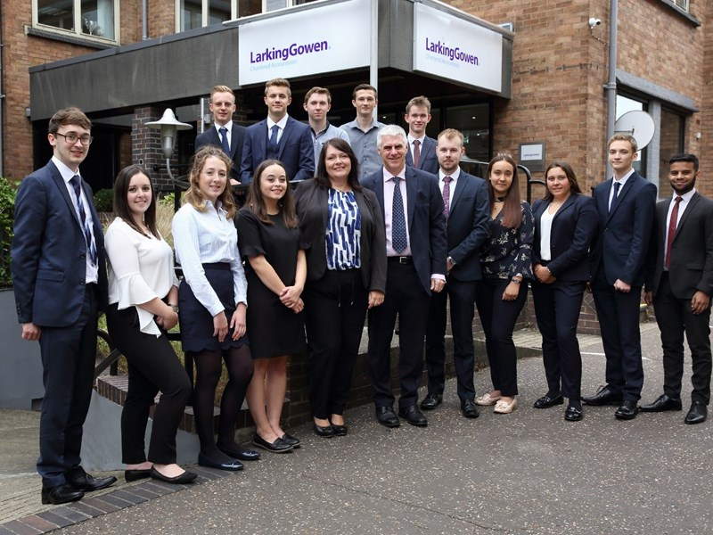 Larking Gowen welcome student intake for 2018