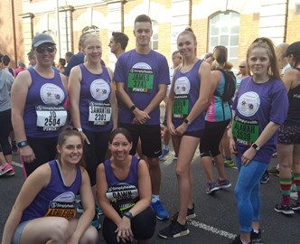 Larking Gowen Runners raise over £800 for Elmer's Big Parade Suffolk
