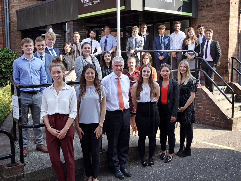MHA Larking Gowen welcomes new apprenticeship students in Norfolk and Suffolk