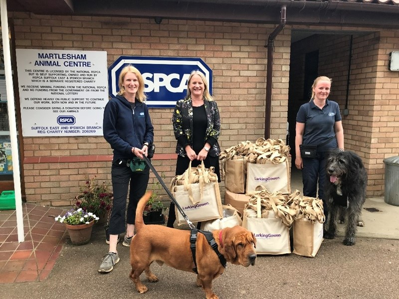 Local accountancy firm helps local RSPCA branch raise funds whilst doing their bit for the environment