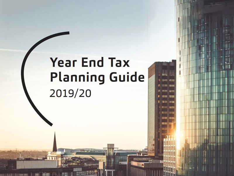 Year End Tax Planning Guide 2019/20
